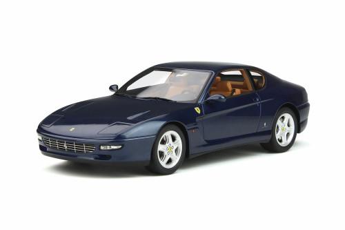 1992 Ferrari 456 GT Hard Top, Swaters Blue - GT Spirit GT239 - 1/18 Scale Resin Model Toy Car