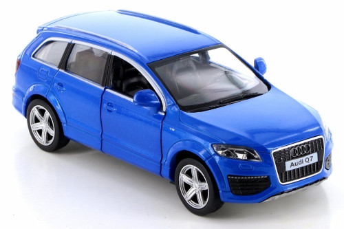 Audi Q7 V12, Blue - RMZ City 555016 - Diecast Model Toy Car