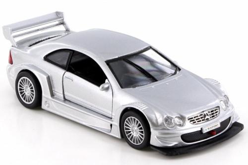 Mercedes-Benz CLK-DTM, Silver - SAICO DP5301D - 1/34 Scale Diecast Model Toy Car