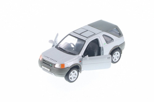 "Land Rover Freelander, Silver - Welly 49761D - 5"" Long Diecast Model Toy Car"