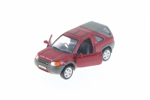 """Land Rover Freelander, Red - Welly 49761D - 5"""" Long Diecast Model Toy Car"""