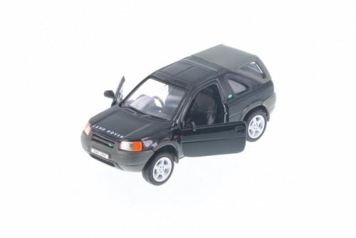 "Land Rover Freelander, Black - Welly 49761D - 5"" Long Diecast Model Toy Car"