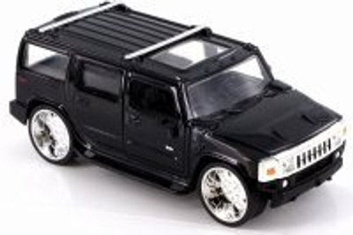 2003 Hummer H2, Black - JADA 91560 - 1/32 Scale Diecast Model Toy Car