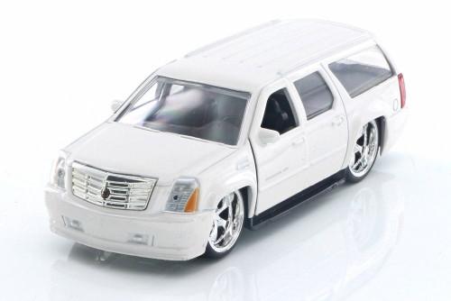 2007 Cadillac Escalade, White - Jada 91393 - 1/32 Scale Diecast Model Toy Car