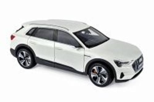 2019 Audi E-Tron Hardtop, White Metallic - Norev 188310 - 1/18 scale Diecast Model Toy Car
