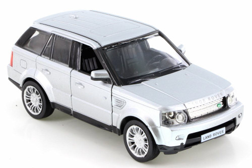 Land Rover Range Rover Sport, Silver - RMZ City 555007 - Diecast Model Toy Car