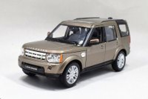 Land Rover Discovery 4, Metallic Brown - Welly 24008WBN - 1/24 scale Diecast Model Toy Car