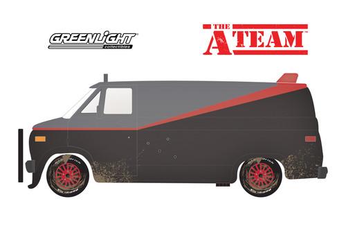 1983 GMC Vandura, The A-Team - Greenlight 84112 - 1/24 Scale Diecast Model Toy Car