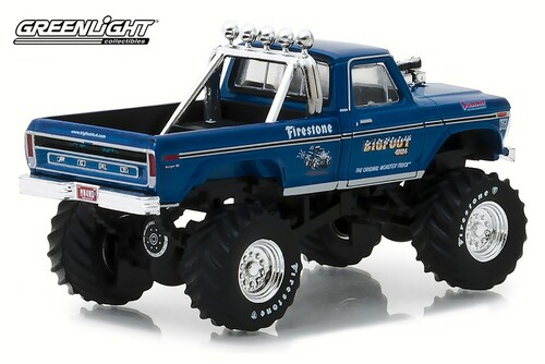 1974 Ford F-250, BIGFOOT #1 - Greenlight 29934/48 - 1/64 Scale Diecast Model Toy Car