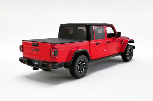 2019 Jeep Gladiator Rubicon Pickup Truck, Firecracker Red - GT Spirit US024 - 1/18 scale Resin Model Toy Car
