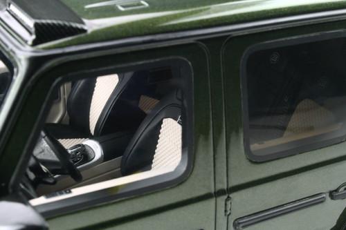2020 Brabus 700 Widestar Mercedes-Benz G63 AMG, Designo Olive Green Metallic - GT Spirit GT274 - 1/18 scale Resin Model Toy Car