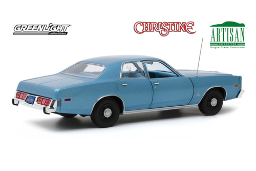 1977 Plymouth Fury, Christine - Greenlight 19082 - 1/18 scale Diecast Model Toy Car