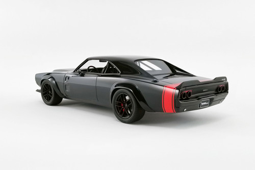 1968 Dodge Super Charger SEMA Concept, Black - GT Spirit US029 - 1/18 scale Resin Model Toy Car