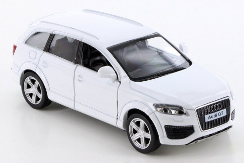 Audi Q7 V12, White - RMZ City 555016 - Diecast Model Toy Car
