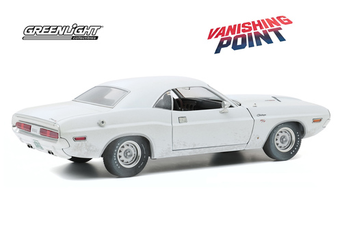 1970 Dodge Challenger R/T (Weathered Verison), Vanishing Point - Greenlight 13582 - 1/18 scale Diecast Model Toy Car
