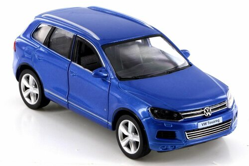 Volkswagen Touareg, Blue - RMZ City 555019 - Diecast Model Toy Car