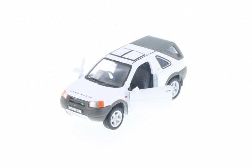 "Land Rover Freelander, White - Welly 49761D - 5"" Long Diecast Model Toy Car"