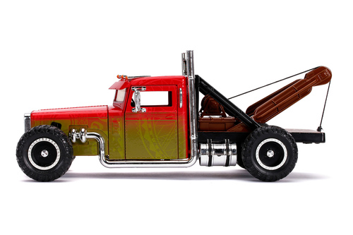 Hobbs &Shaw's Peterbilt Tow Truck, Fast & Furious - Jada Toys 32089 - 1/24 scale Diecast Model Toy Car