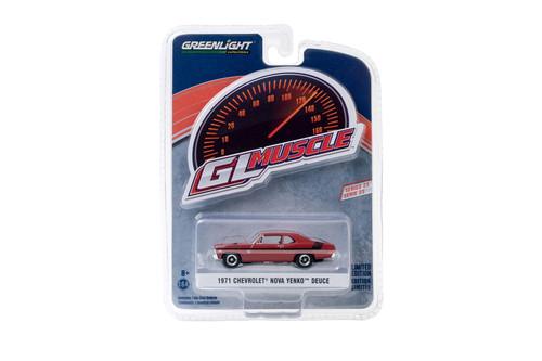 1971 Chevy Nova Yenko Deuce, Hugger Orange - Greenlight 13270/48 - 1/64 scale Diecast Model Toy Car