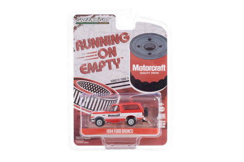 1994 Ford Bronco, Motorcraft - Greenlight 41110/48 - 1/64 scale Diecast Model Toy Car