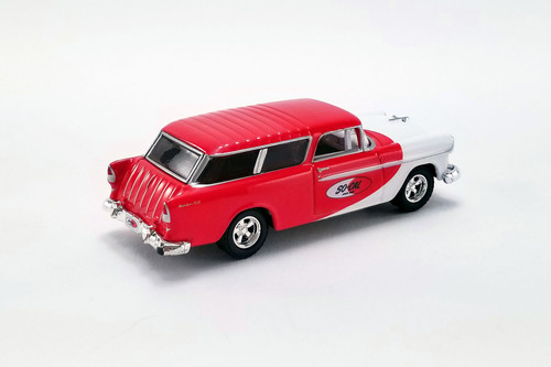 1955 Chevy Bel Air Nomad, So-Cal Speed Shop - Greenlight 51340 - 1/64 scale Diecast Model Toy Car