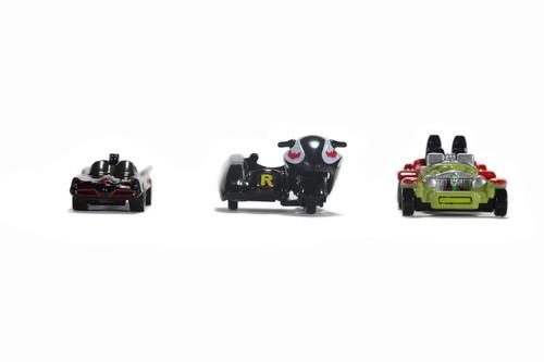 Classic TV Series Batmobile Assortment, Batman - Jada Toys 31988 - 1/65 scale Diecast Model Toy Car