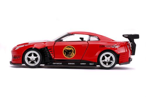 2009 Nissan GT-R, Power Rangers - Jada Toys 31827 - 1/32 scale Diecast Model Toy Car