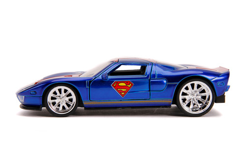 2005 Ford GT, Superman - Jada Toys 31717 - 1/32 scale Diecast Model Toy Car