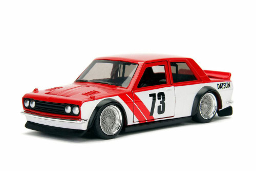 1973 Datsun 510 Widebody, #73 - Jada 98572WA1 - 1/32 Scale Diecast Model Toy Car