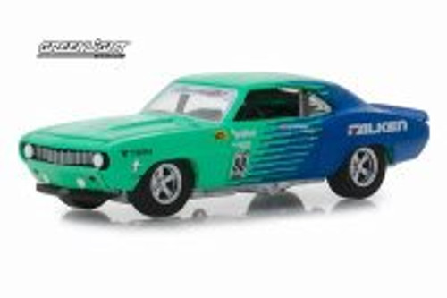 1969 Chevy Camaro, #88 Falken Tires  - Greenlight 29959/48 - 1/64 scale Diecast Model Toy Car