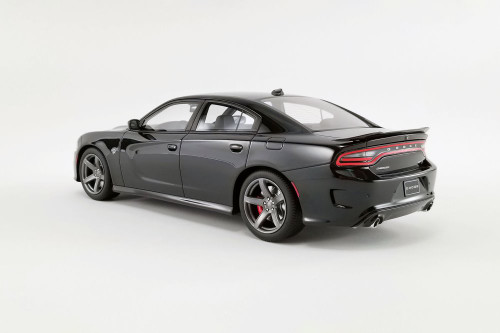 2019 Dodge Super Charger SRT Hellcat, Pitch Black - GT Spirit US025 - 1/18 scale Resin Model Toy Car
