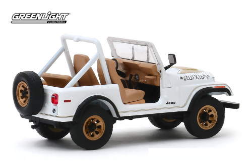 "1979 Jeep CJ-7 Golden Eagle ""Dixie"", White - Greenlight 86572 - 1/43 scale Diecast Model Toy Car"
