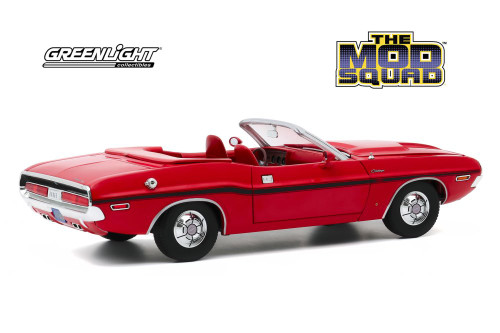 1970 Dodge Challenger R/T Convertible, The Mod Squad - Greenlight 13565 - 1/18 scale Diecast Model Toy Car