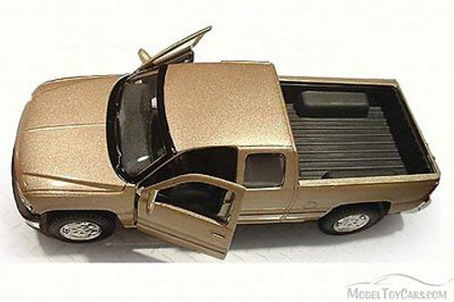 Chevrolet Silverado Pickup Truck, Gold - Maisto 31941 - 1/27 Scale Diecast Model Toy Car