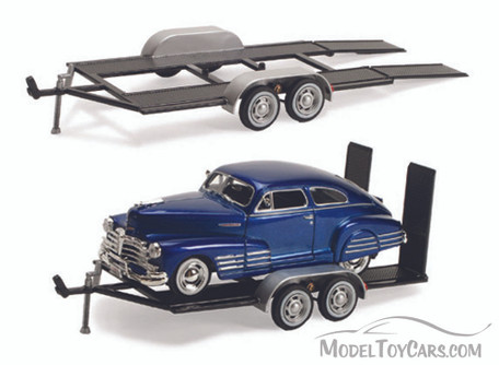 Trailer Car Carrier - Motormax 76001 - 1/24 scale Diecast Model Toy Car
