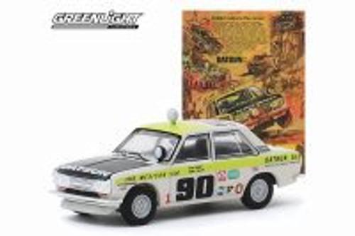 Datsun 510 4-Door Sedan,  - Greenlight 39020/6 - 1/64 scale Diecast Model Toy Car
