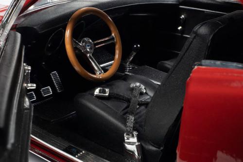 (MCACN) Nickey 1967 Chevy Camaro Z/28, Bolero Red - Auto World AMM1228 - 1/18 scale Diecast Model Toy Car