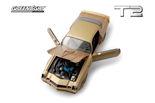 1979 Chevy Camaro Z/28, Terminator 2: Judgement Day - Greenlight 13573 - 1/18 scale Diecast Model Toy Car
