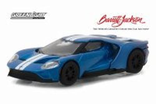 2017 Ford GT, Liquid Blue - Greenlight 29964/48 - 1/64 scale Diecast Model Toy Car