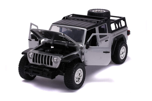 2020 Jeep Gladiator Pick up Truck, Fast and Furious - Jada Toys 31984 - 1/24 scale Diecast Model Toy Car