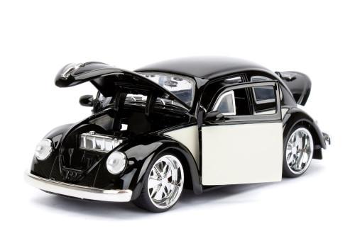 1959 Volkswagen Beetle, Black - Jada Toys 99021 - 1/24 scale Diecast Model Toy Car