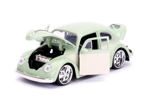 1959 Volkswagen Beetle, Green - Jada Toys 99020 - 1/24 scale Diecast Model Toy Car