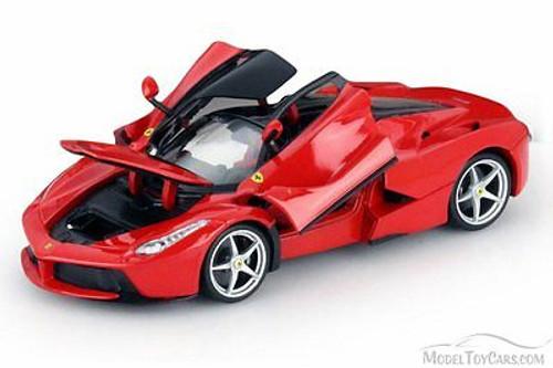 Ferrari Race and Play LaFerrari, Red - Bburago 16001 - 1/18 Scale Diecast Model Toy Car