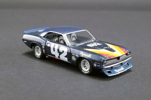 1970 Plymouth Barracuda Trans Am, Swede Savage #42 - Greenlight 51264 - 1/64 scale Diecast Model Toy Car