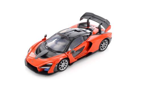 McLaren Senna Hardtop, Orange - Showcasts 79355/16D - 1/24 scale Diecast Model Toy Car