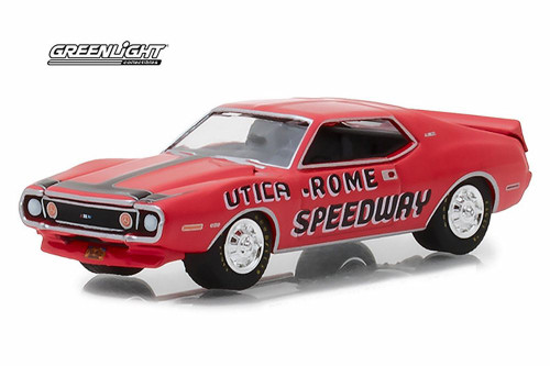 "1972 AMC Javelin AMX, ""Utica-Rome Speedway""  Official Pace Car - Greenlight 29948/48 - 1/64 Scale Diecast Model Toy Car"