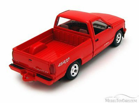 1992 Chevy 454SS Pick Up Truck, Red - Showcasts 73203 - 1/24 Scale Diecast Model Car (Brand New, but NOT IN BOX)