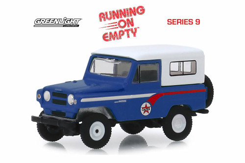 1964 Nissan Patrol, Caltex - Greenlight 41090B/48 - 1/64 scale Diecast Model Toy Car