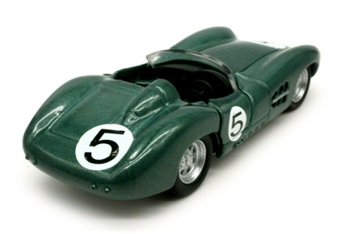 Aston-Martin DBR1 #5, Green - Shelby Collectibles SC701GN - 1/64 scale Diecast Model Toy Car