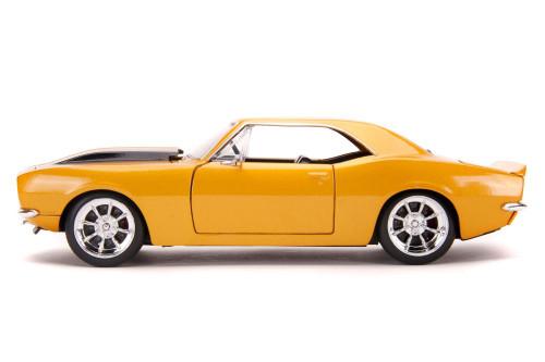 1967 Chevy Camaro, Orange /Black - Jada Toys 31866/4 - 1/24 scale Diecast Model Toy Car